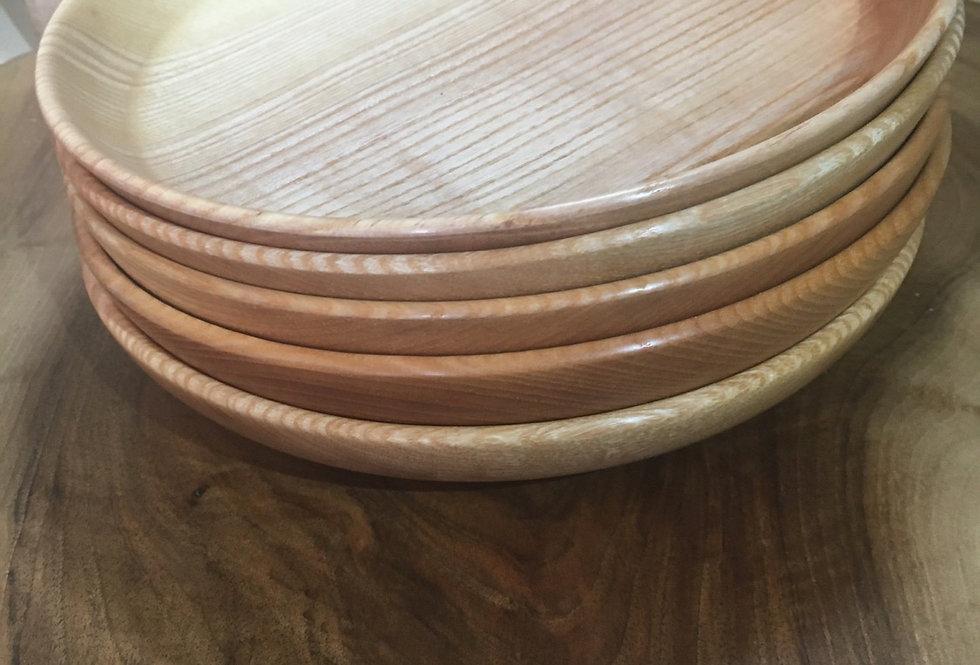 Assiette en bois de frêne Ø24cm H4cm