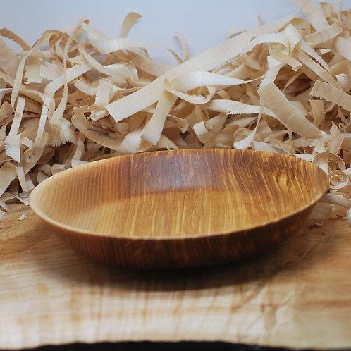 Assiette en bois de frêne Ø24 H40 mm