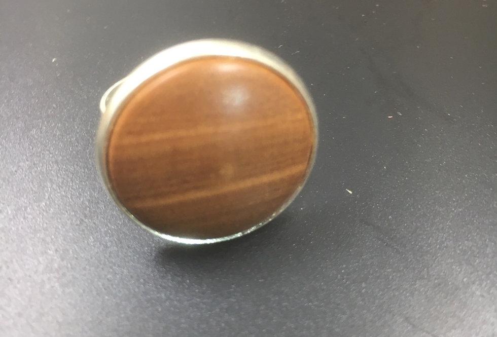 Bague en bois de merisier ø22mm