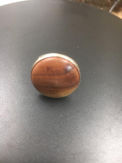 Bague en bois d'abricotier ø22mm