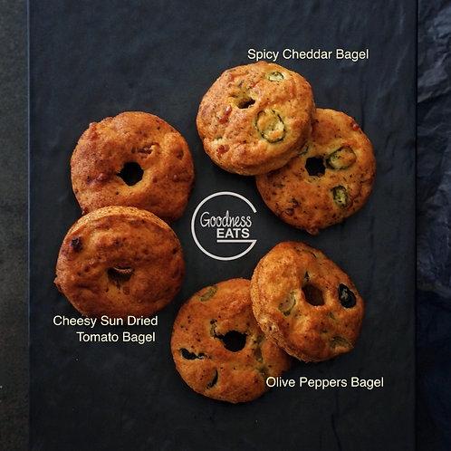Keto Assorted Bagels