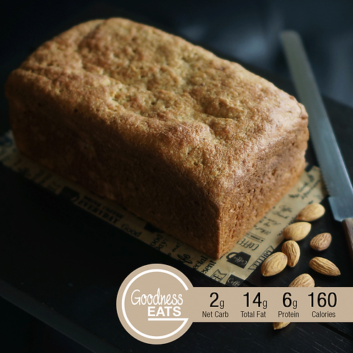 Keto Almond Bread Loaf