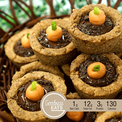 Keto Chocolata Fudge Cookies