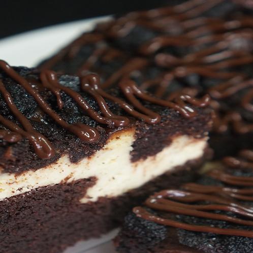 "6"" Keto Chocolate Cheesecake Cake"