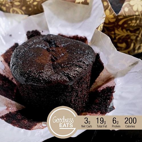 Keto Double Chocolate Muffins - 2pcs set