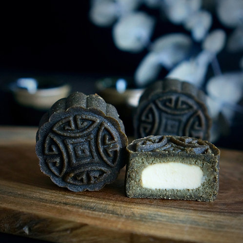 2021 Keto Houjicha Cheese (焙茶起司) Mooncake - 4pcs set