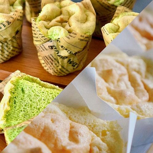 Chiffon Cupcakes COMBO - 6pcs set