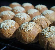 Keto Buns in baking