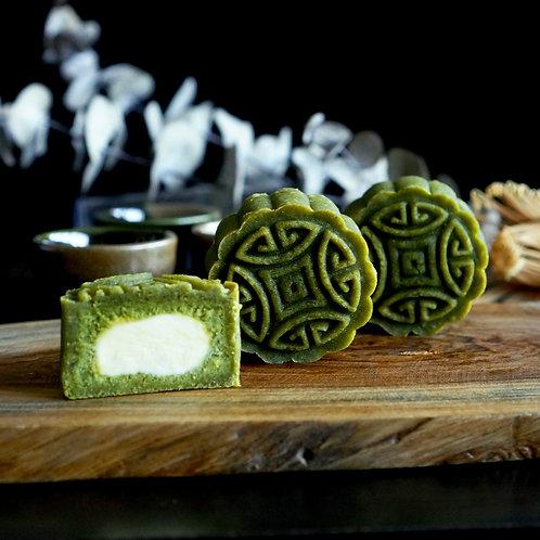 2021 Keto Matcha Cheese (抹茶起司) Mooncake - 4pcs set