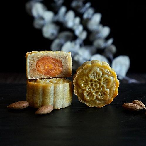 2021 Keto Almond Mooncake with Yolk (杏仁蛋黄) - 4pcs set