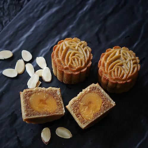 Keto Almond Mooncake with Yolk