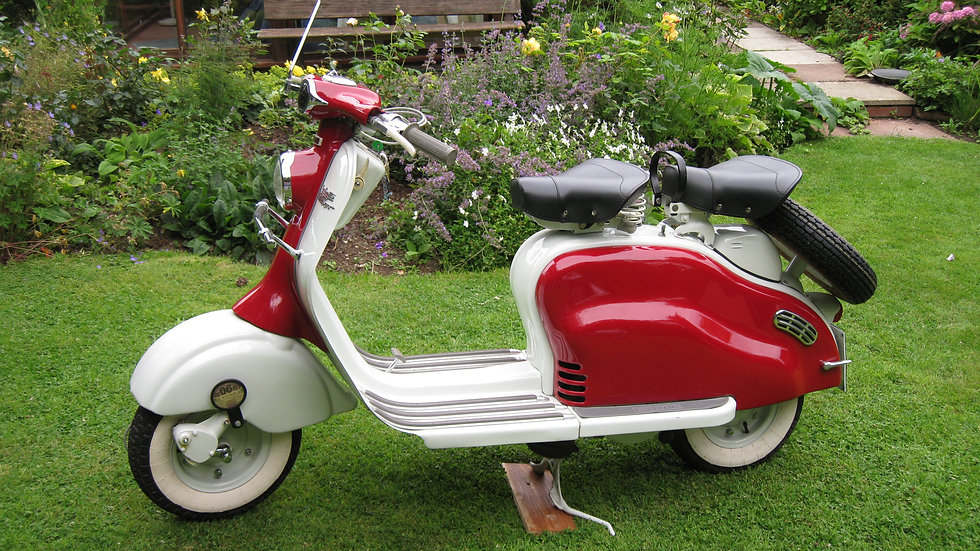 1957 Lambretta LDAvv (electric start)