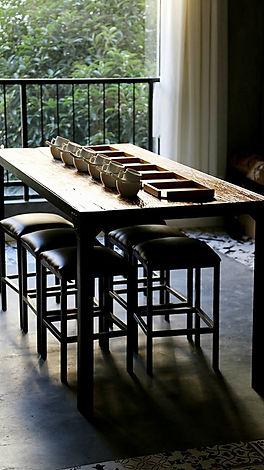 Tea Table in Yunnan China, Wild Tea Qi.