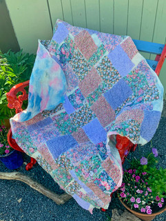 Vintage Liberty cotton nuno patchwork