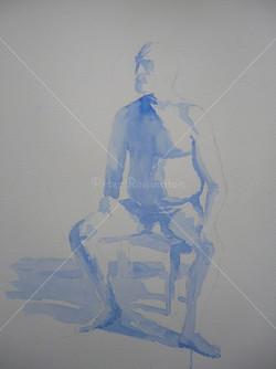 Nude, Watercolour, 2016