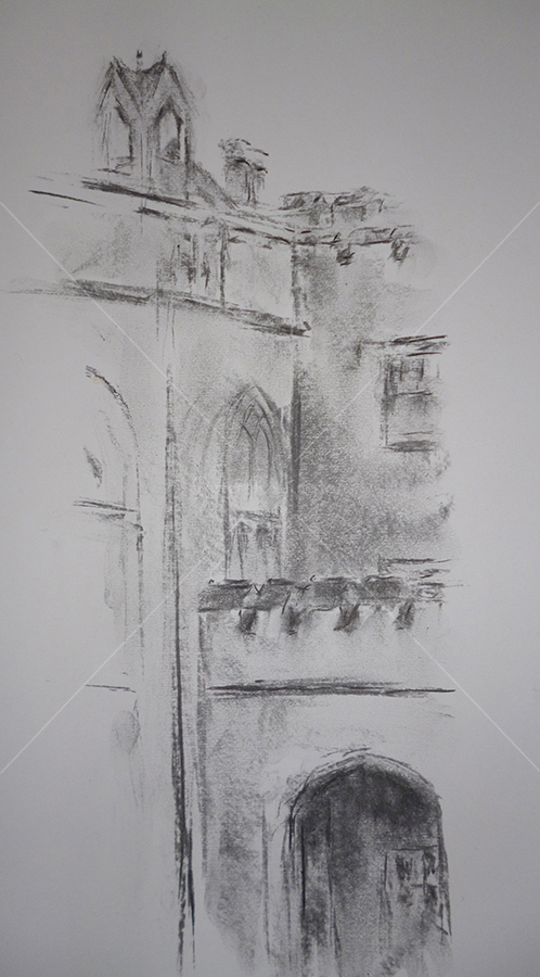 Nonsuch House, Charcoal, 2016