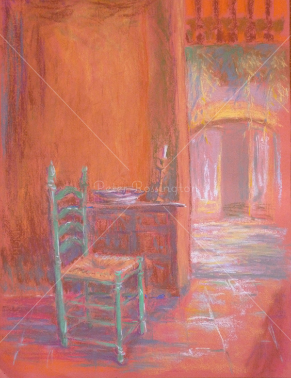 Interior, southern Spain, Pastel