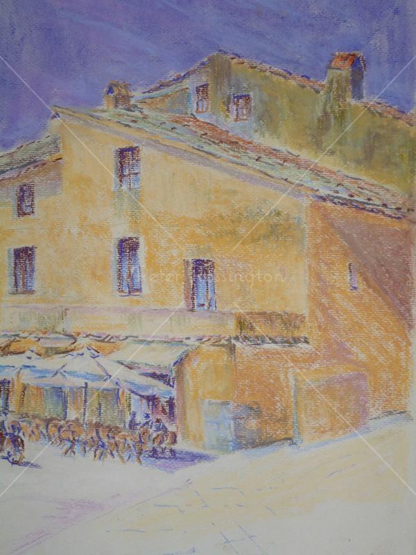 Tuscan Café, Pastel