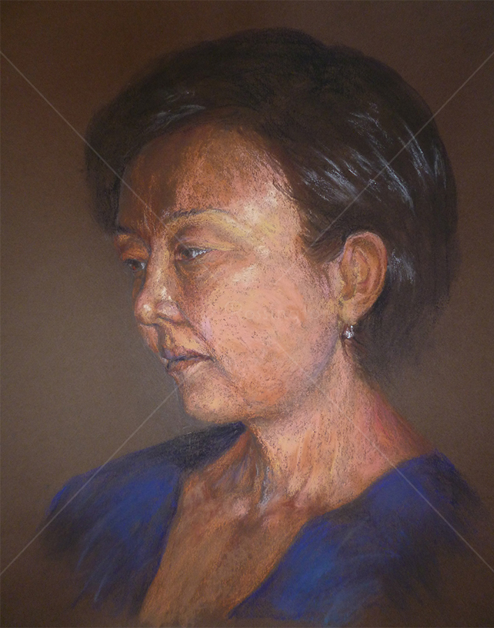 Portrait, Pastel, 2015