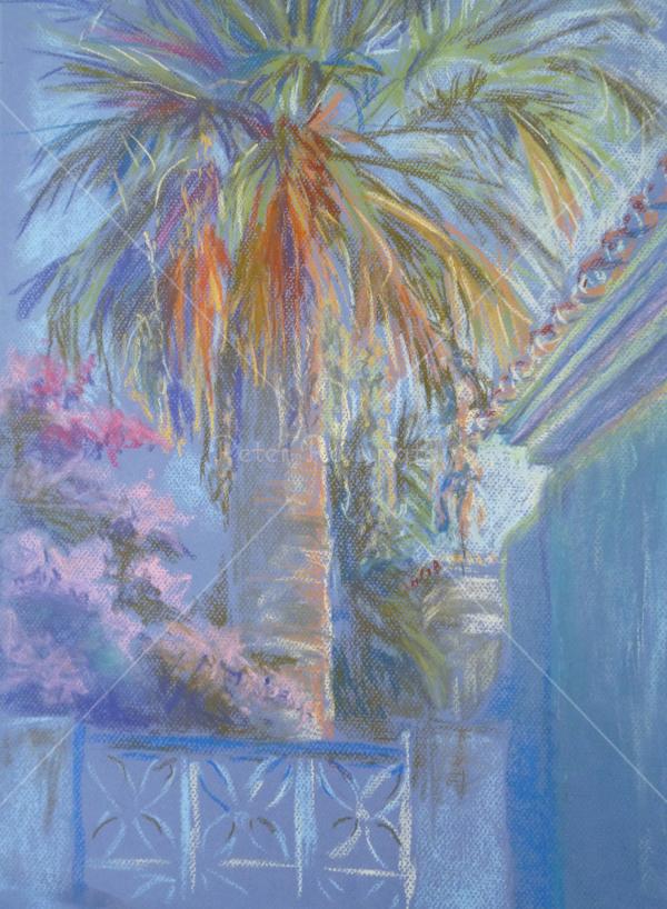 Palm, southern Spain, Pastel