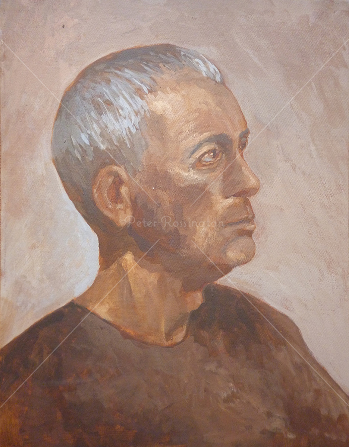 Portrait, Acrylic, 2016