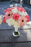 Bridal boquet beach wedding