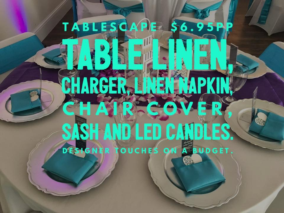 Tablescape Package