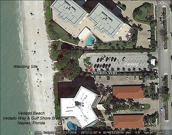 Naples Beach Wedding Locations