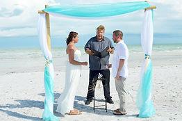 Florida wedding officiant, Venice wedding Officiant, Ft Myers beach officiant