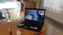 Skype en clase. Skype in the classroom