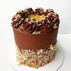 German Chocolate Cake_ Yes please!🙋 What is your favorite flavor of cake_