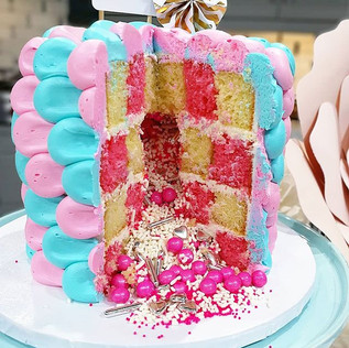 Gender Reveal Cake!! Is there anything m