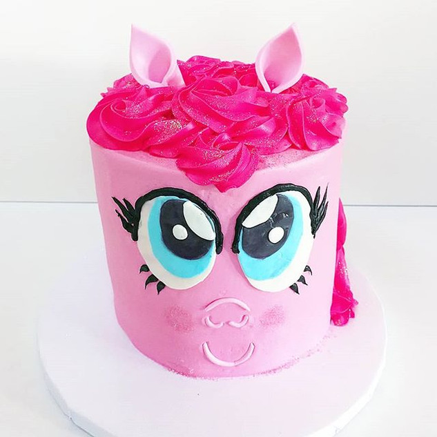 My Little Pony Cake!! • • •__#sweetkateb