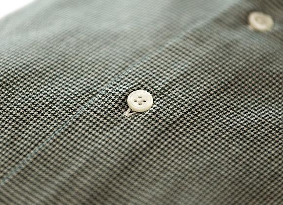 Camicia con Texture verde