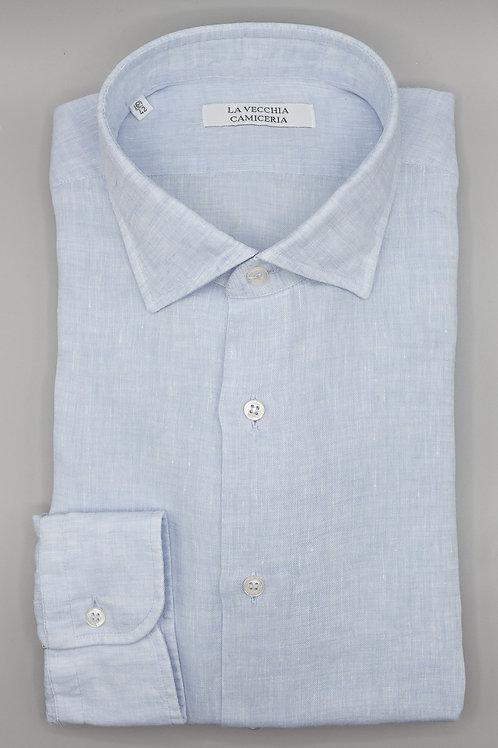 Camicia in Lino colore Azzurro