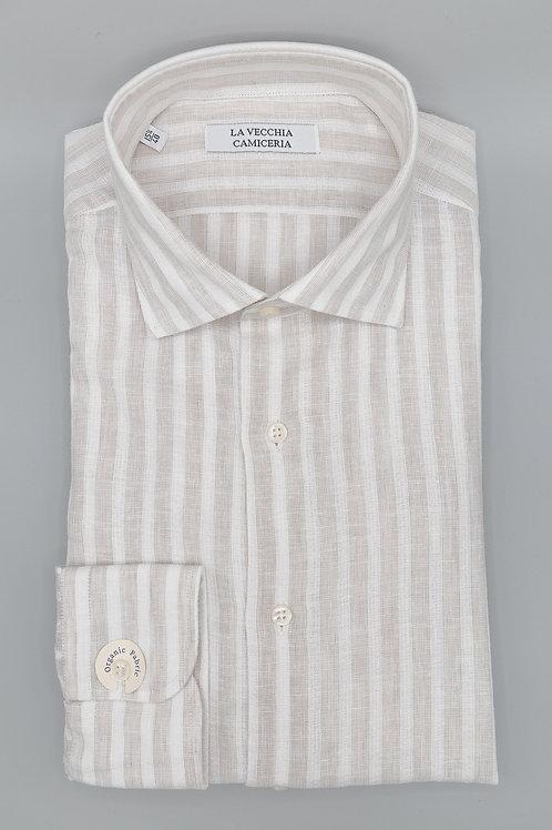 Camicia riga chiara