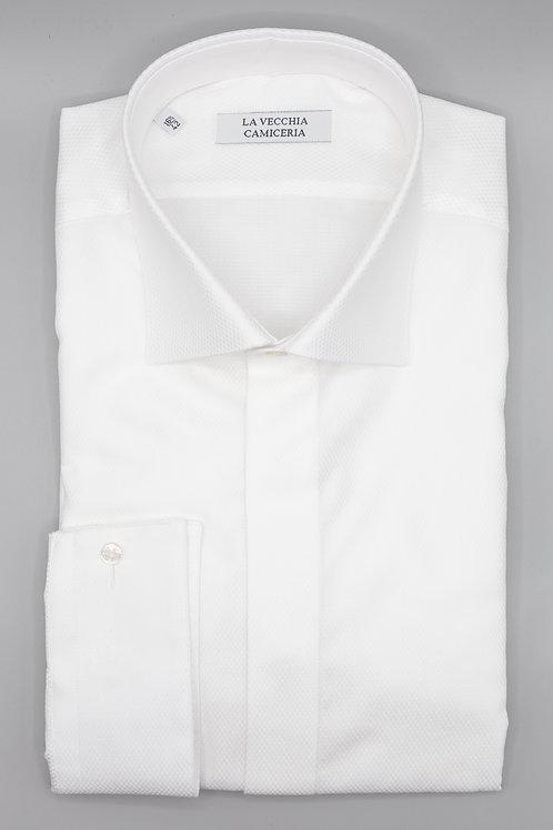Camicia Cerimonia Bianca con polso gemelli