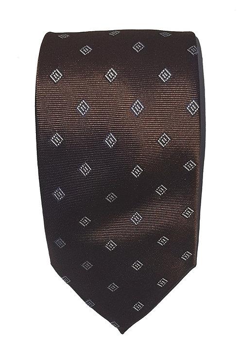 Cravatta Marrone