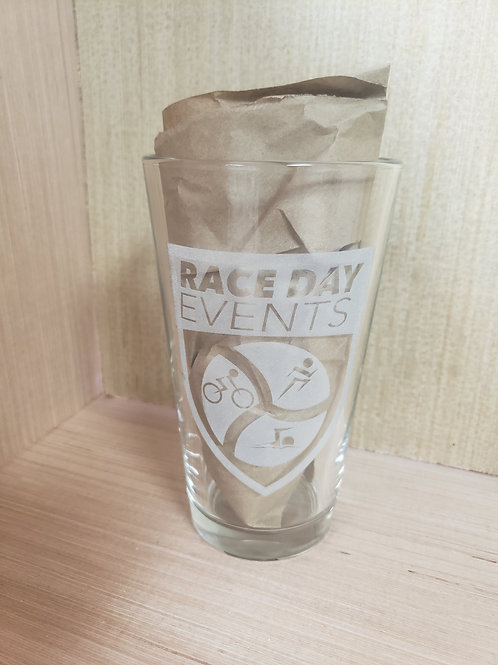 Laser Engraved Pint Glass