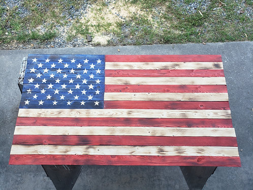 Rustic Stars and Stripes