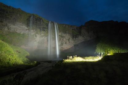 Island Seljalandsfoss