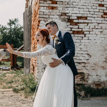 Svatba Honětice