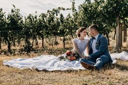Svatba a vinohrady