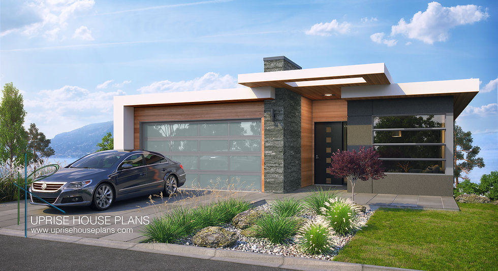 Uprise House Plans - The Riesling Render