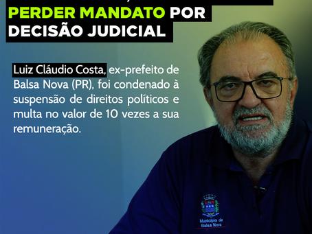 Ao contrário de presidente, prefeitos podem perder mandato por decisão judicial
