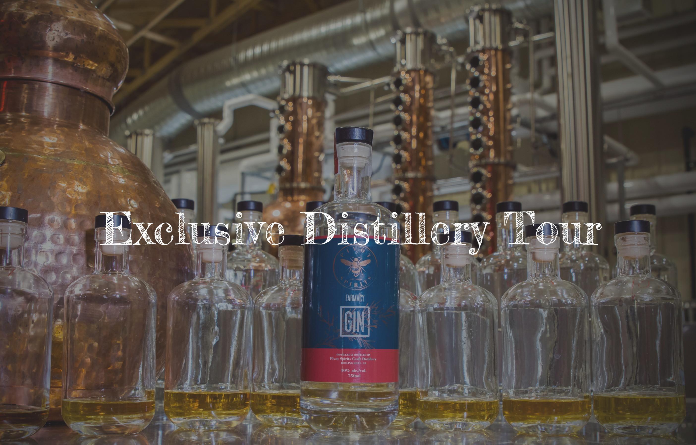Exclusive Distillery Tour & Tasting