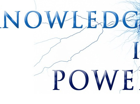 """""""Knowledge is Power, Power provides Information....""""Israelmore Ayivor."""