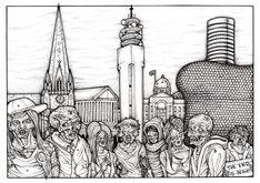 Zombies in Birmingham