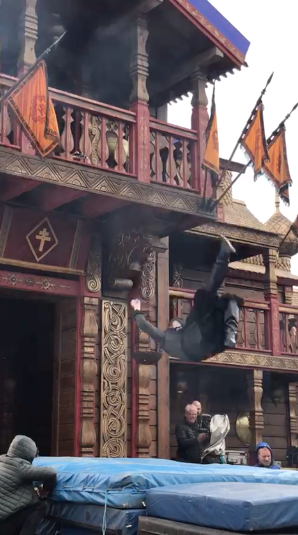 Balcony Fall - Vikings