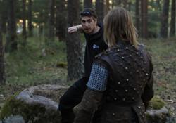 'Mercenaries' explaining the action for the shot